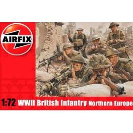 Airfix 1/72e INFANTERIE BRITANNIQUE (Europe de l'Ouest 1944-1945) 2EME GUERRE MONDIALE