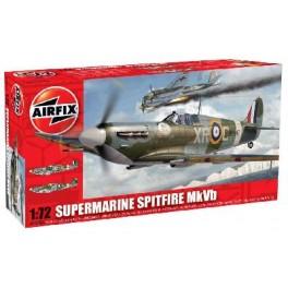 SUPERMARINE SPITFIRE MK.Vb. Maquette d'avion de chasse. Airfix 1/72e