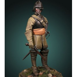 Crécy Models 54mm,SOLDAT D'OLIVER CROMWELL ,figurine à peindre.