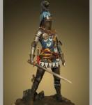 Figurine historique-SIR EDMUND DE THORPE 75MM Chevalier du début  du XVe siècle.