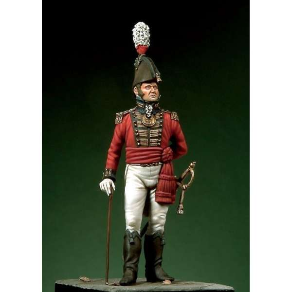 Pegaso Models 54mm.Figurine de Lieutenant de Marine GB,1805.