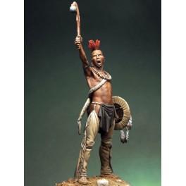 Figurine Pegaso Models 75mm.Guerrier Pawnee.