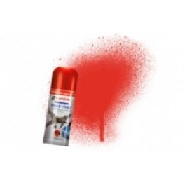 Rouge vermillon brillant. Bombe de peinture acrylique 150ml Peinture  humbrol N19