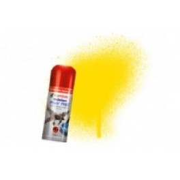 Bombe de peinture acrylique 150ml humbrol N69 Jaune d'or brillant.