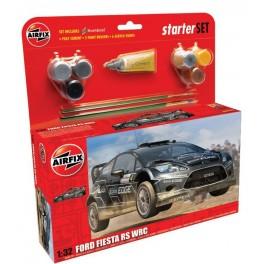 Airfix 1/32e STARTER SET FORD FIESTA WRC - 2011. Maquette de voiture.
