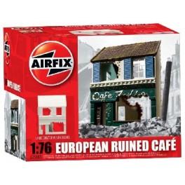 Airfix 1/76e CAFÉ FRANÇAIS EN RUINE. Maquette de diorama.