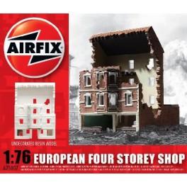 Airfix 1/76e Ruine d'immeuble de trois étages.Maquette de diorama.