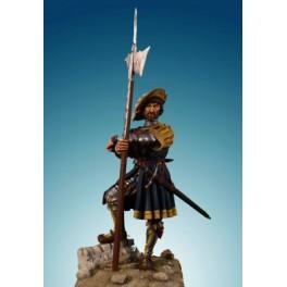 Figurine de garde Suisse 1525 Soldiers 54mm Officier