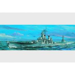 CUIRASSE U.S. BB-61 IOWA - 1984. Maquette de bateau. Trumpeter 1/700e