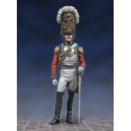 Andrea miniatures,figuren 54mm.Soldat, 2. Regiment Leibgarde.