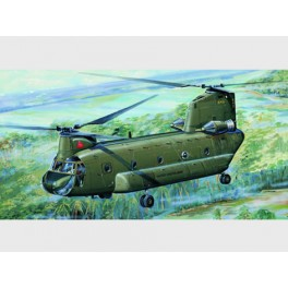 "Trumpeter 1/72e CH-47A ""CHINOOK"" - HELICOPTERE DE TRANSPORT MILITAIRE US"