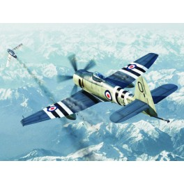Trumpeter 1/72e HAWKER SEA FURY FB.11  Armée Britannique.