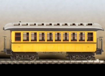 Andrea miniatures,54mm.Wild West Passenger Car.