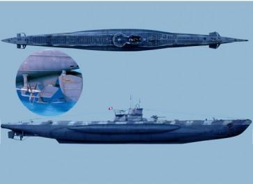 Andrea miniatures.54mm.U-Boat VII C (Complete hull).