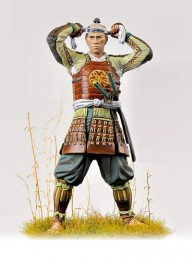Andrea miniatures,75mm vollfiguren .Ashigaru,1600.
