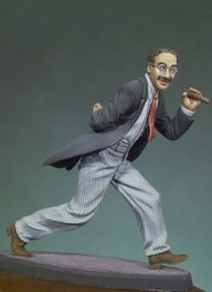 Andrea moniatures,54mm.The Comedian 1930 figure kits.
