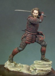 Andrea miniatures,54mm.Western Samouraï figure kits.