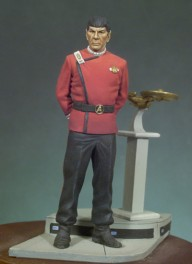 Andrea Miniatures 54mm.Star Trek.Space officer.