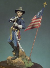 Andrea Miniatures 54mm.Lt. Dumbar, 1st Lt. Cavalry John J. Dumbar figure kits.