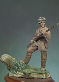 Andrea miniatures 54mm.Figurine de David Crockett 1834