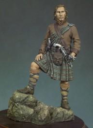 Andrea miniatures,54mm.Figurine de Rob Roy.