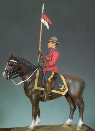 Andrea miniatures,54mm.Canadian Mounted Police (1970) figure kits.
