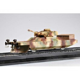 "Trumpeter 1/35e Wagon blindé Allemand ""Panzerjagerwagen"" 1944 No1."