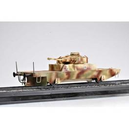 """Wagon blindé Allemand """"Panzerjagerwagen"""" N02 1944. Maquette Trumpeter 1/35e"""
