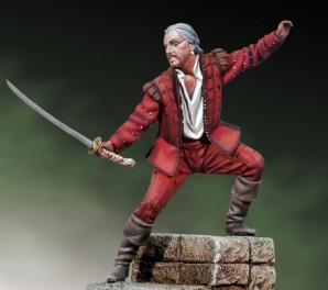 Andrea miniatures,54mm.Figurine de Highlander.
