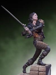 Andrea miniatures,54mm.Figurine de Highlander II.