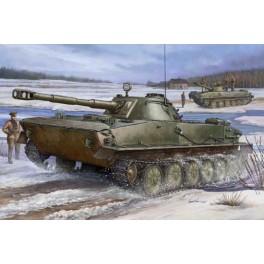 Trumpeter 1/35e PT-76 Blindé amphibie Soviétique modéle 1960.