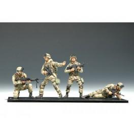 US 101e Airborn division .Irak 2004. Figurine Trumpeter 1/35e