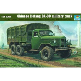 Camion Chinois JIE FANG CA 30. Maquette Trumpeter 1/35e