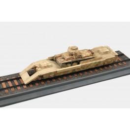 """Wagon Allemand """"Panzerträgerwagen"""" 39-45. Maquette Trumpeter 1/35e"""