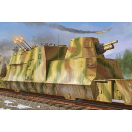 Trumpeter 1/35e Wagon blindé Allemand 2e guerre mondiale.