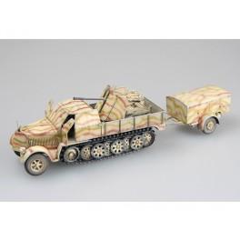 Trumpeter 1/35e Version fin de guerre du véhicule chenillé anti-aérien Allemand.