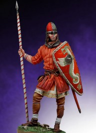 Andrea miniatures,54mm.Norman Warrio. Battle of Hastings, AD 1066 figure kits.