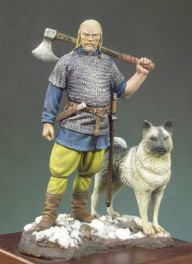 Andrea miniatures,54mm.Viking Warlord (X A.D.) figure kits.