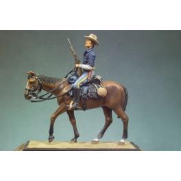 Andrea miniatures.54mm.Figurine de Cavalier U.S.1880.