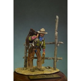 Andrea miniatures 54mm. Cowboy figure kits.