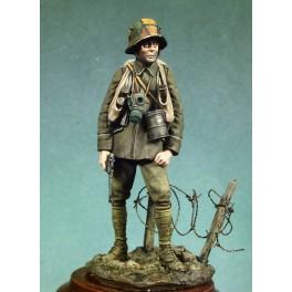 Andrea miniatures,54mm.Stormtrooper (1917).Historical figure kits.