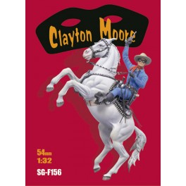 Andrea 54mm figure kits.Clayton Moore, That Masked Man.