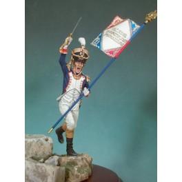 Andrea Miniatures 54mm.Figurine d'Infanterie de ligne,1809.