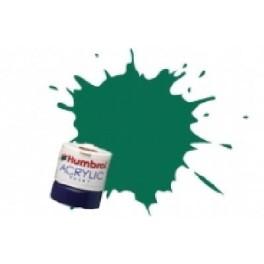 VERT FONCE ACRYLIQUE- Peinture Humbrol 30 , 14 ML