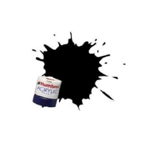 NOIR ACRYLIQUE - Peinture Humbrol 33 14 ML