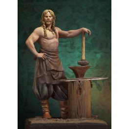 Andrea miniaturen,wikinger figuren 54 mm . Normannischer Schmied,750.