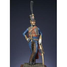 Captain 5th regiment of hussars 1810 - 1815 figure kits.