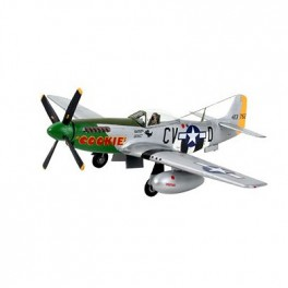 NORTH AMERICAN P-51D MUSTANG Maquette 72e Revell.