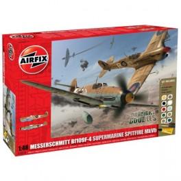 Airfix 1/48e DOGFIGHT DOUBLE - SPITFIRE MKVB contre MESSERSCHMITT BF 109F