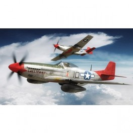 Maquette NORTH AMERICAN P-51D MUSTANG airfix au 1/72e.